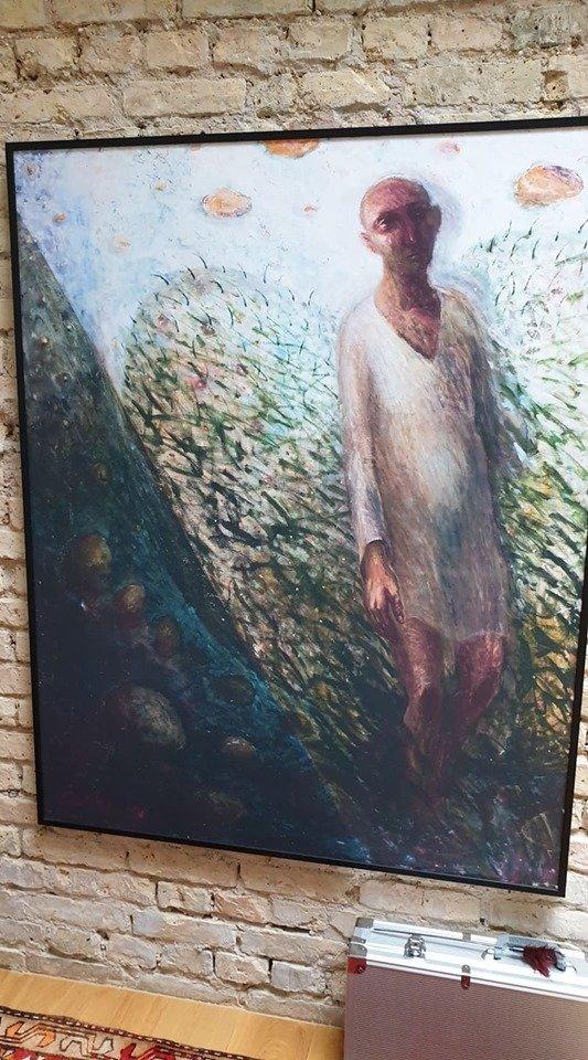 """Sauliaus Urbonavičiaus-Samo paveikslas """"Angelas"""""""