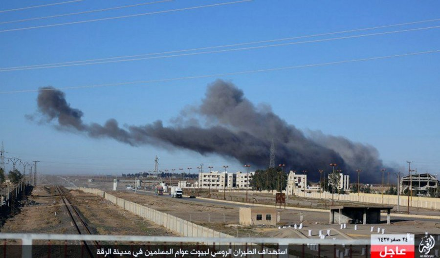 Иракские ВВС нанесли удары попозициямИГ вприграничных районах Сирии