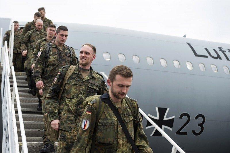 ВЛитву прибыли военные нового батальона альянса НАТО