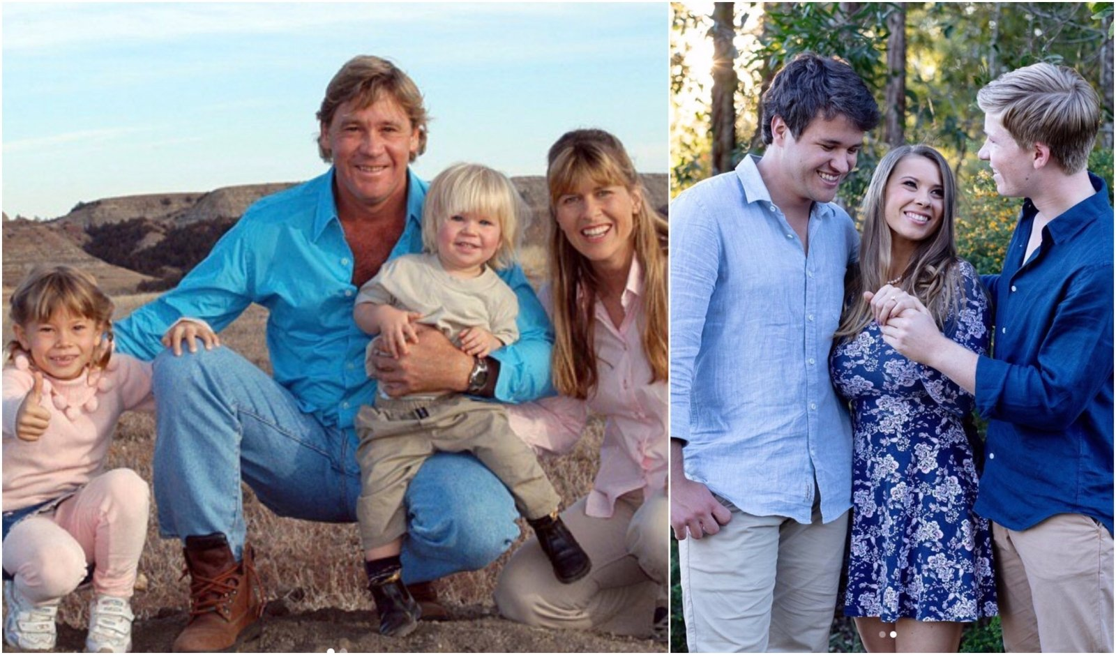 Steve Irwin's daughter approaching the altar wrote a sensitive