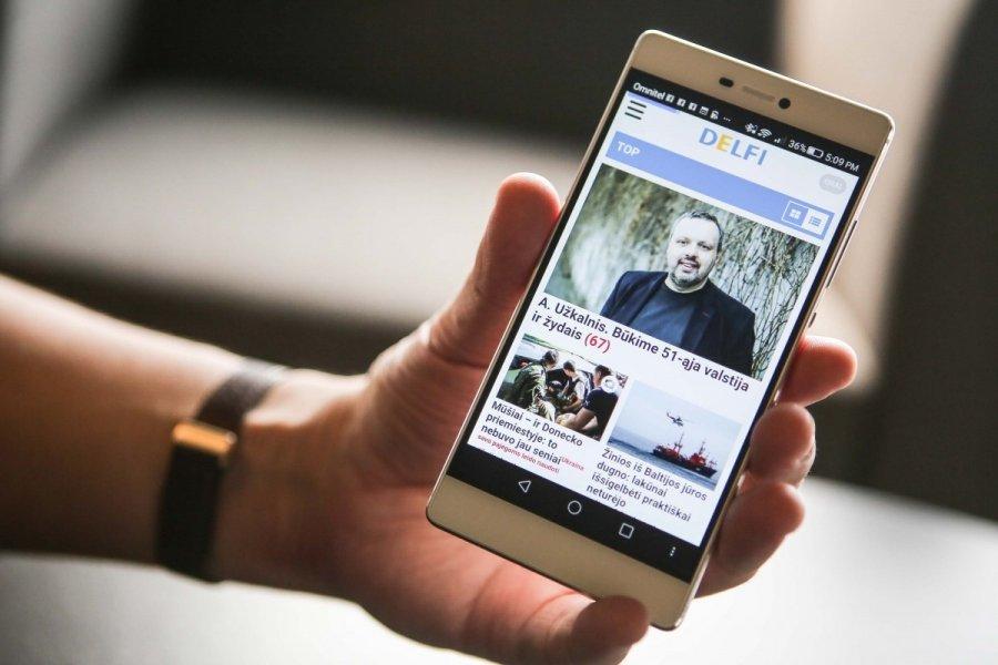Huawei p8 lite apzvalga