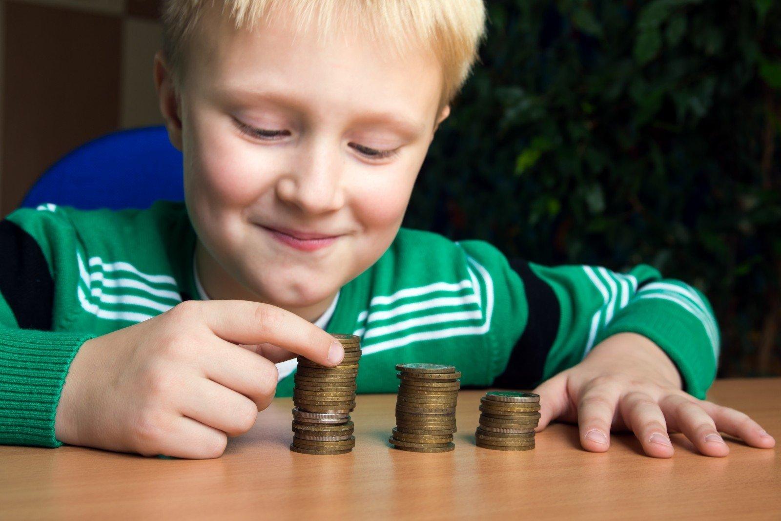 kaip vaikai gali usidirbti pinig)