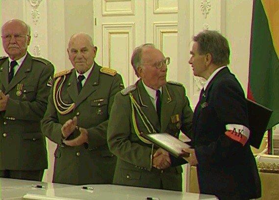 Vietinės rinktinės ir Armijos Krajovos atstovų susitaikymo ceremonija