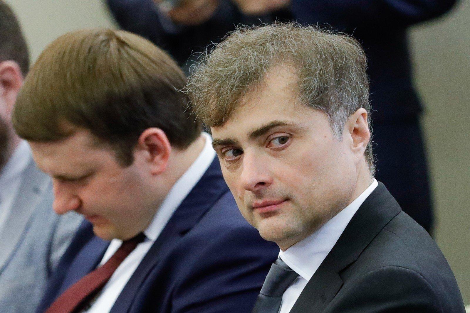 Помощник президента РФ Владислав Сурков покинул госслужбу