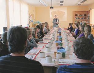 <span>Aukštosios kultūros impulsai mokykloms</span>Projekto vykdytojas: Lietuvos meno kūrėjų asociacija