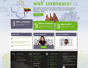 <span>Aukštojo mokslo tarptautiškumo plėtra. Study in Lithuania</span>Projekto vykdytojas: Švietimo mainų paramos fondas