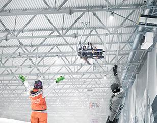 <span>Uždarų kalnų slidinėjimo trasų su dirbtine sniego danga įrengimas</span>Projekto vykdytojas: Druskininkų savivaldybės administracija