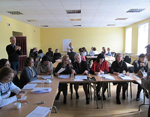 <span>Pedagogų kvalifikacijos tobulinimas</span>Projekto vykdytojas: Ugdymo plėtotės centras