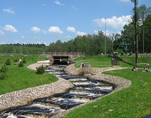 <span>Jurbarko rajone sutvarkyta 11 seniūnijų centrų</span>Projekto vykdytojas: Jurbarko rajono savivaldybės administracija